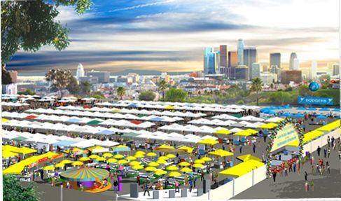 Dodger Stadium to sport: flea market shopping