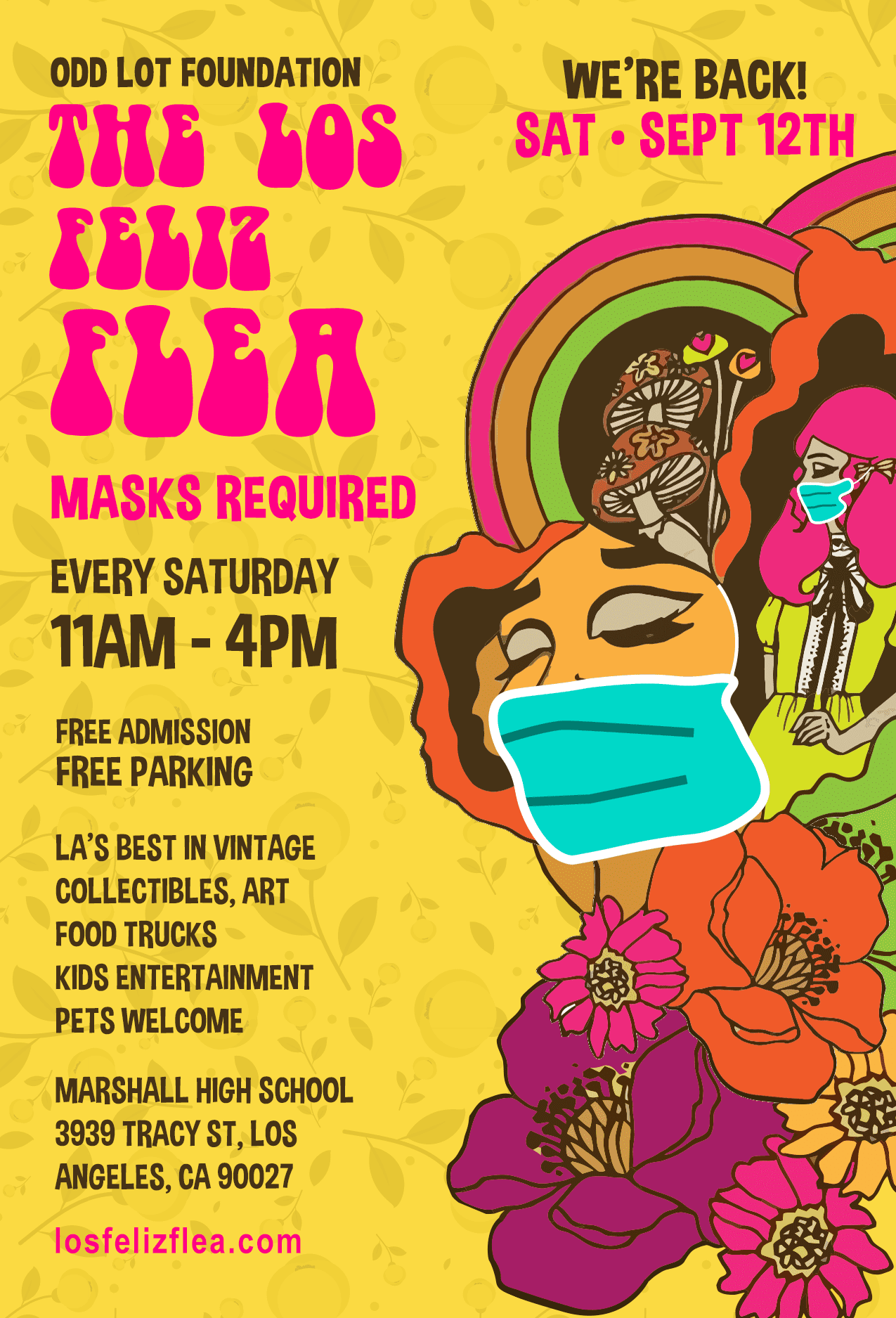 Iconic Marshall HS gets 'Los Feliz Flea' Every Saturday 11-4