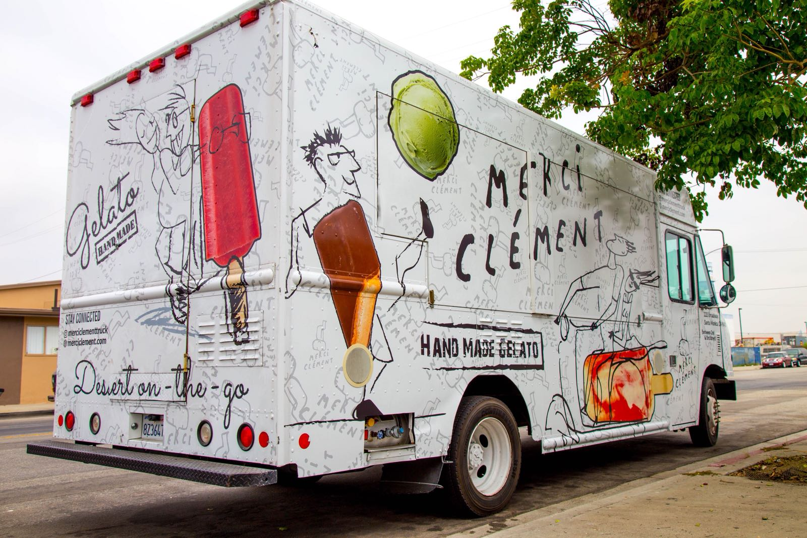 Merci Clement Truck