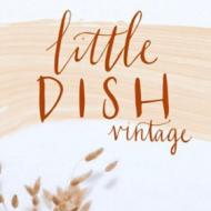 Little dish vintage