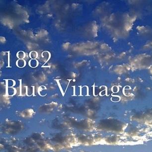 1882 Blue Vintage