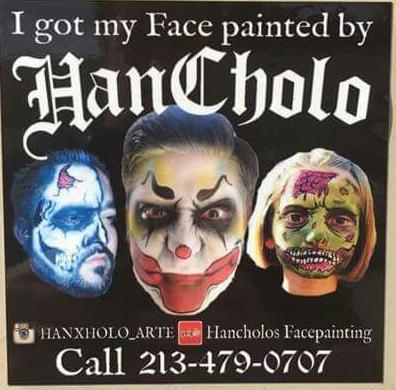 Hancholos Facepainting