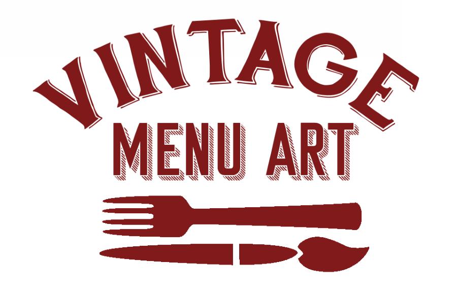 Vintage Menu Art